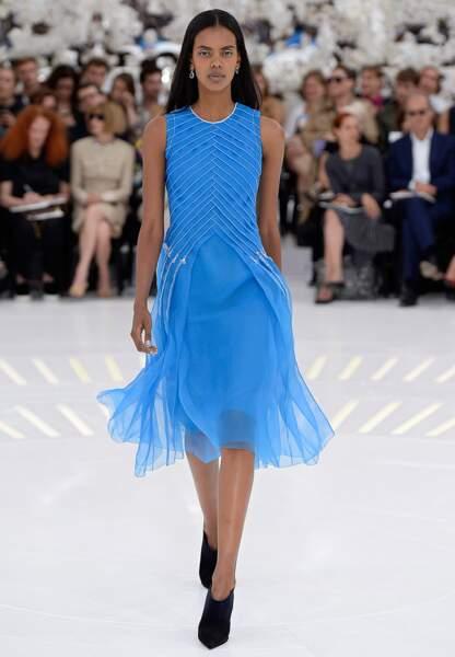 Légèreté et fluidité pour le vestiaire automne-hiver 2014-2015 de Dior