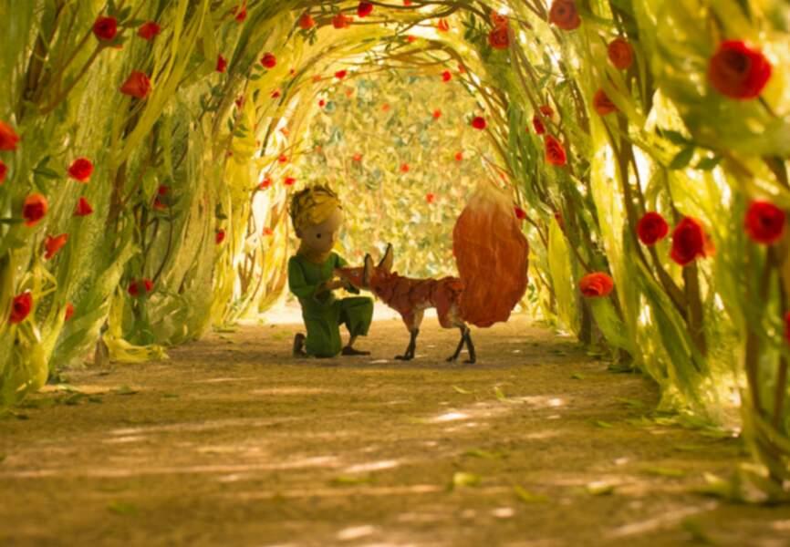 Mais que serait le petit prince sans son ami le renard?