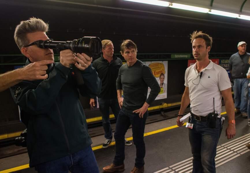 Christopher McQuarrie fait les derniers réglages sur le tournage de MI5