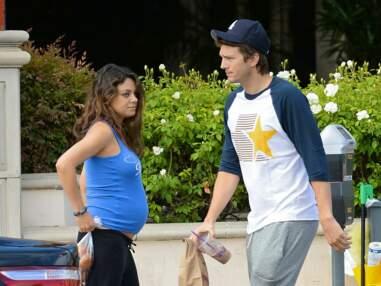 Mila Kunis, future maman épanouie