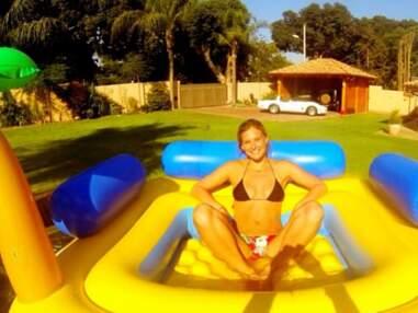 Les vacances israéliennes de Bar Refaeli