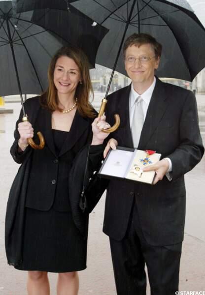 Miranda et Bill Gates