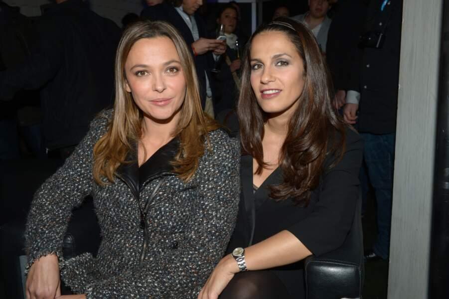 Sandrine Quétier et Elisa Tovati