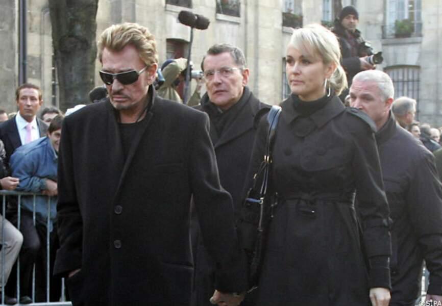 En janvier 2008, aux funérailles du chanteur Carlos