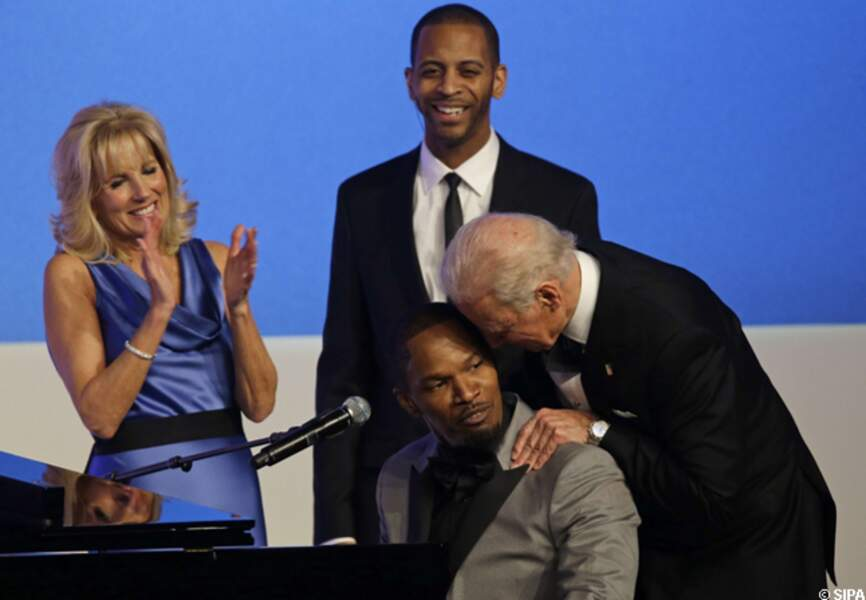 Les people à l'investiture de Barack Obama - Gala