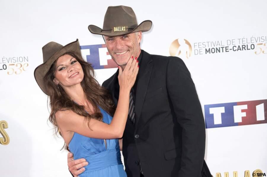 Timothy V.Murphy et Danielle Vasinova à la soirée Dallas
