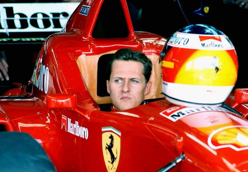 En 1996, Michael Schumacher tente une nouvelle aventure chez Ferrari