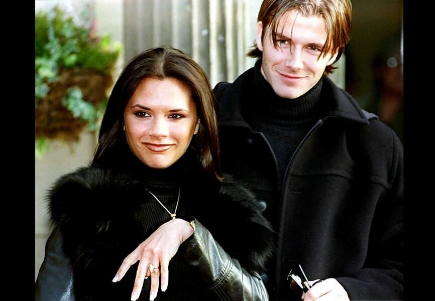 L'annonce de leurs fiançailles en janvier 1998