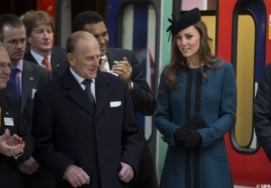 La duchesse très complice avec le prince Philip