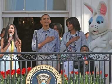 Photos – La chasse aux oeufs des Obama