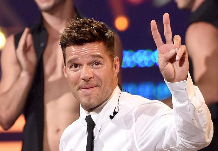 Ricky Martin était latin lover, il a fait son coming out en 2010 à travers une lettre ouverte