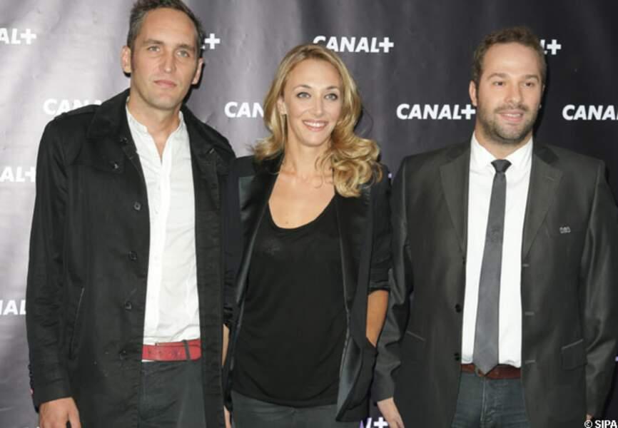 Franck Montagny, Laurie Delhostal et Julien Fébreau : l'équipe F1