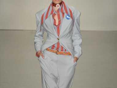Fashion Week de Londres - Vivienne Westwood soutient l'Écosse