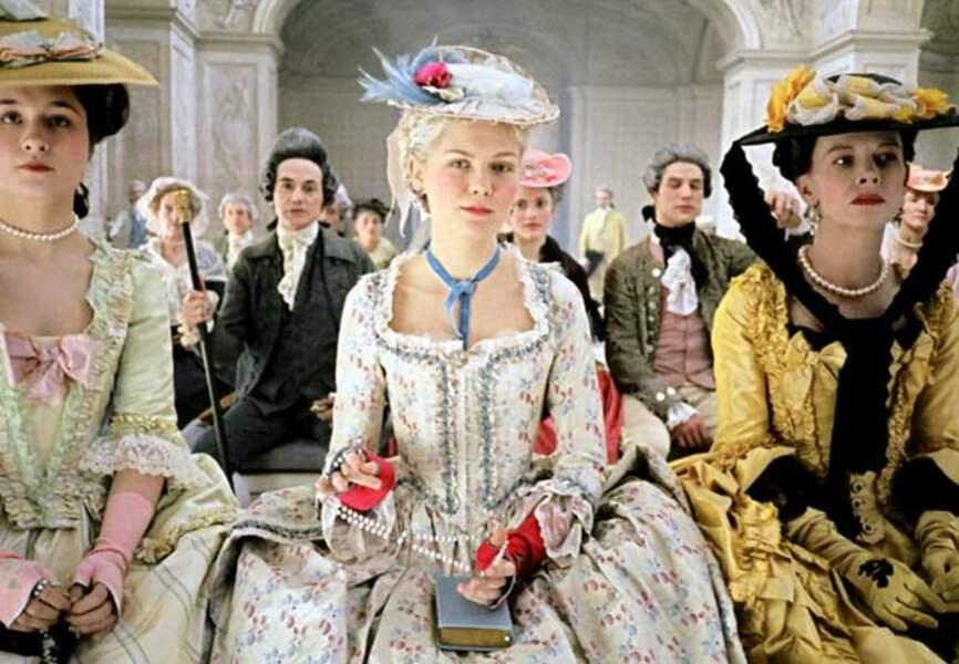 Kirsten Dunst en Marie-Antoinette (Marie-Antoinette de Sofia Coppola, 2005)