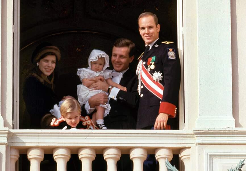 novembre 1987, Charlotte a un an et demi