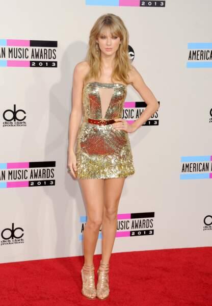 Taylor aux American Music Awards en novembre 2013
