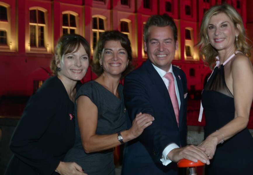 Cécilia Hortus, Marielle Fournier, Henk van der Mark et Michèle Laroque