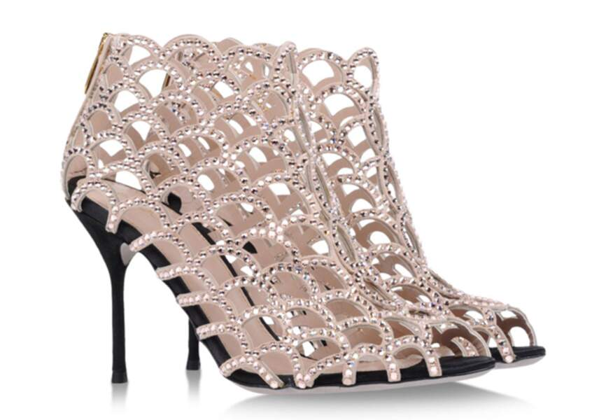 Sergio Rossi – Chaussures Mermaid – 1350€