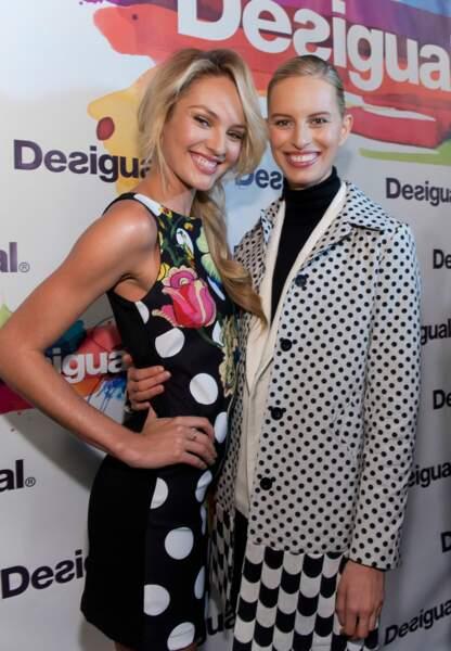 Candice Swanepoel et Karoline Kurkova