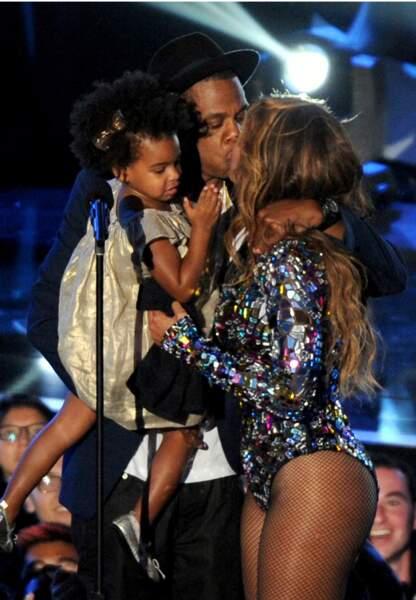 La famille Carter au complet: Jaz-Z, Beyoncé et leur petite Blue Ivy