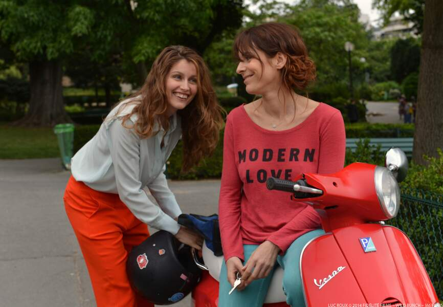 Laetitia Casta et Audrey Dana