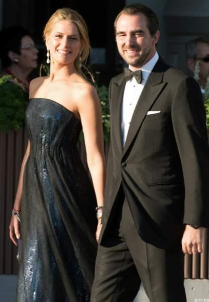 Le prince Nikolaos de Grèce et la princesse Tatiana