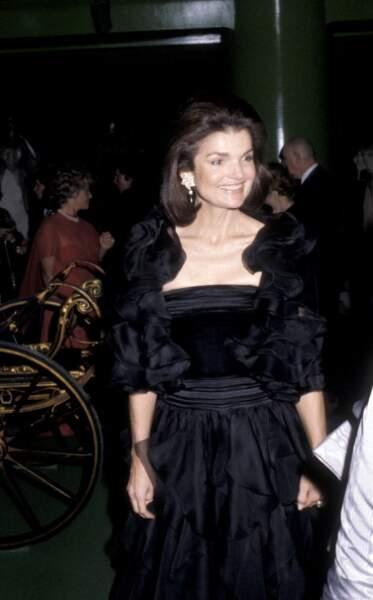 En 1979, de noir vêtue