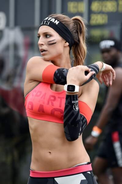 Laury Thilleman, ultrasexy avant le départ de la Reebok Spartan Race