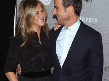 Jennifer Aniston et Justin Theroux à l'avant-première de The Leftlovers