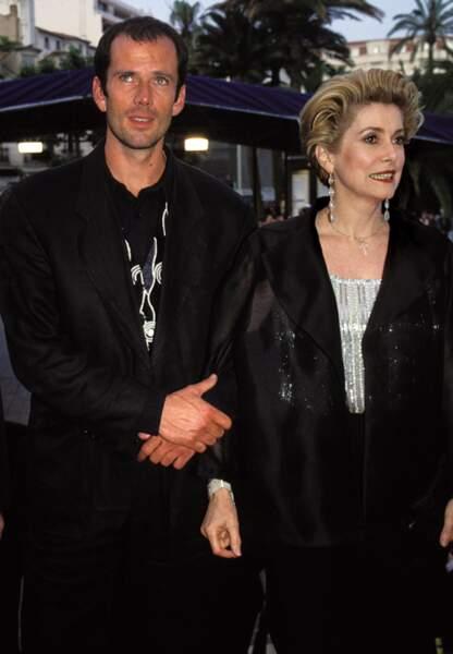 Catherine Deneuve et son fils Christian Vadim en 1994