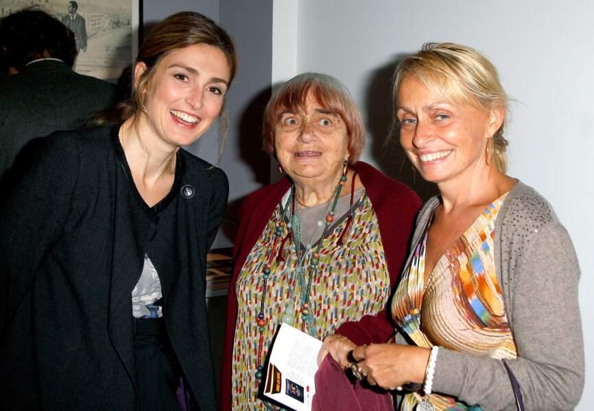 Julie Gayet, Agnès et Rosalie Varda