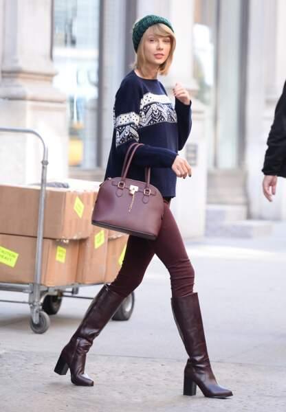 Taylor en hiver, 2014