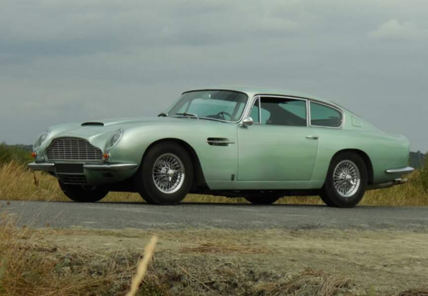 L'Aston Martin de Richard Anthony entre 250 et 350 000€