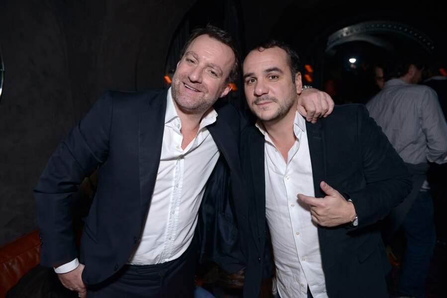 Julien Delajoux et François-Xavier demaiosn