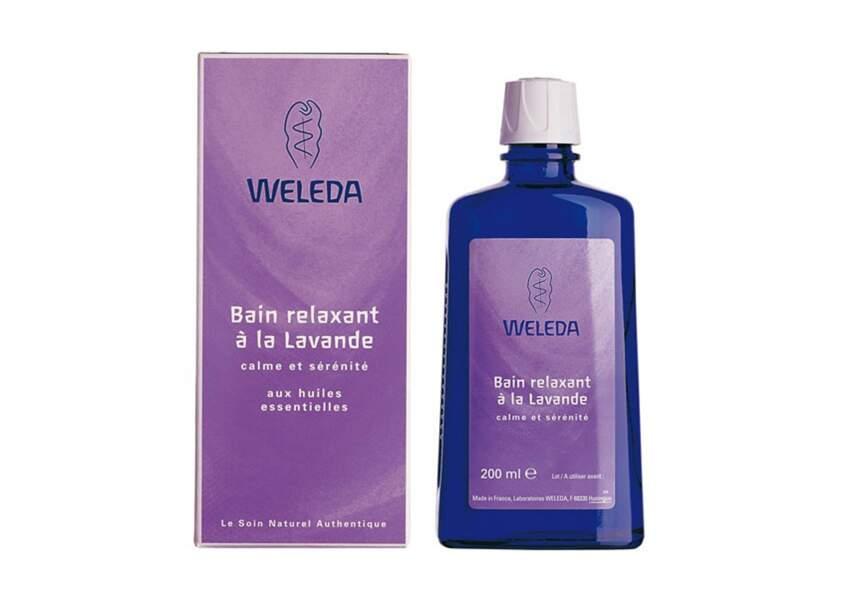 Weleda, Bain relaxant à la lavande, 11,75€