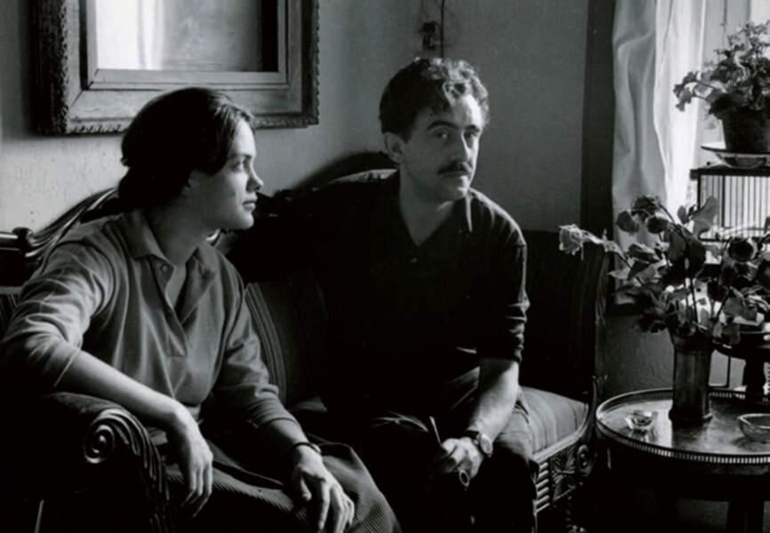 Printemps 1959: Louisa et Xavier Valls dans l'appartement du Marais