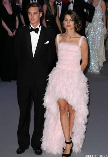Pierre et Charlotte Casiraghi