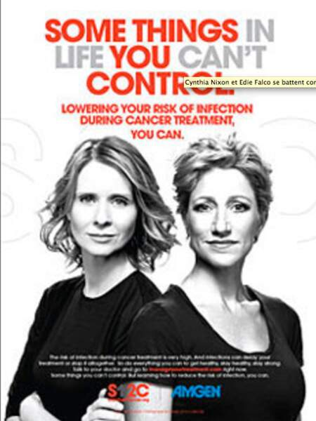 Cynthia Nixon et Edie Falco, ensemble contre le cancer
