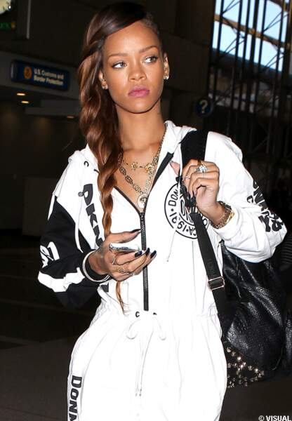 Rihanna s'imagine en Rapunzel