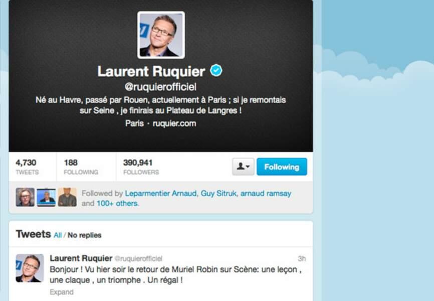 Laurent Ruquier a eu un coup de coeur