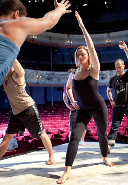 Kim Catrall préfère le yoga