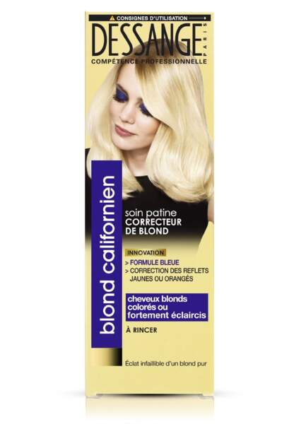 Soin platine correcteur de blond, Dessange, 9,70€
