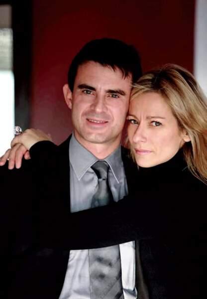 Manuel Valls et Anne Gravoin, son épouse