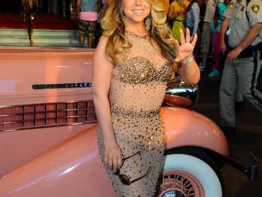 Mariah Carey arrive à Las Vegas