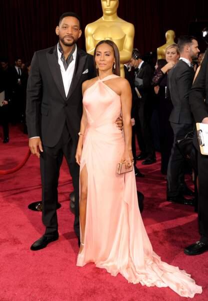 Encore un couple de super stars. Will Smith et sa femme Jada Pinkett Smith
