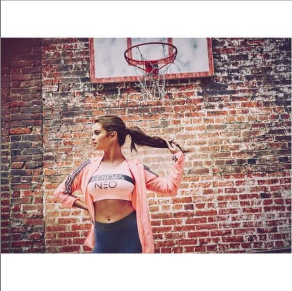 Selena Gomez pour Adidas