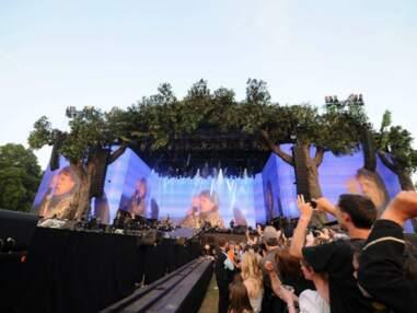 Les Rolling Stones en concert à Hyde Park