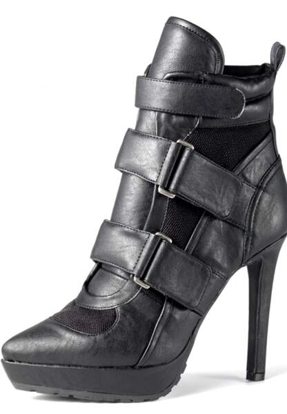 Bottines, H&M (49,95€)