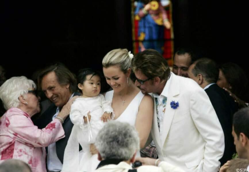 Baptême de Jade en 2005