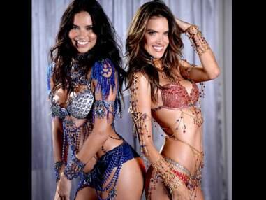Adriana Lima et Alessandra Ambrosio, à deux c'est mieux